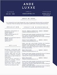 Word Masculine Resume Template Modern 10 Best Creative Resume Templates For A Career In Fashion And