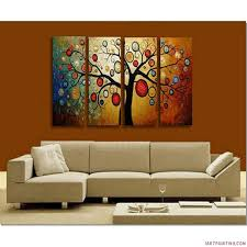 modern canvas wall art chinese cherry blossom painting