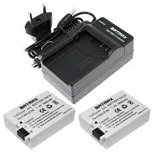 <b>2Pcs 1800mah</b> LP E8 LP E8 LPE8 Camera Battery for Canon EOS ...
