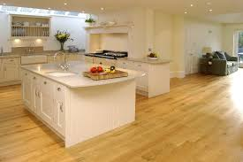 Simple Kitchen Wood Floor