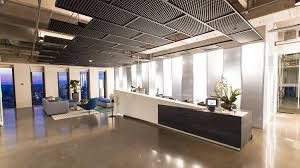 cool office lighting. The Reception Area On The 20th Floor Includes A Lounge Seating And  Technology To Sign Cool Office Lighting
