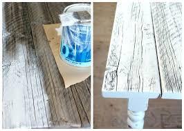 whitewash furniture diy. White Washed Table How To Wash Reclaimed Wood Diy Farmhouse Satori Design For Living Dining Whitewash Furniture