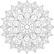 Small Picture Printable Coloring Pages Mandala Coloring Pages