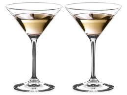 riedel vinum martini glass set of 2