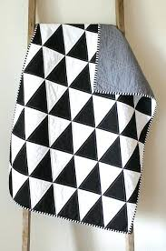 Black And White Quilts – boltonphoenixtheatre.com & ... Find This Pin And More On Needle Thread Black And White Isosceles  Triangle Quilt Black And ... Adamdwight.com