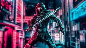 Neon Samurai Wallpaper 4k - Novocom.top