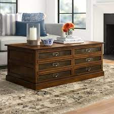 coffee table with storage color