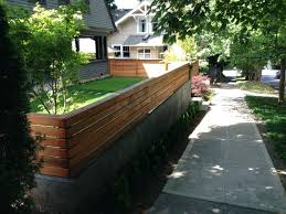 modern retaining wall ideas medium size nice elegant front yard modern retaining wall with wooden and