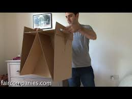 diy cardboard furniture with free ikea style instructions