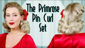 vine wet set with the primrose pin curl set monday july 10 2017 0 1940s hairstyles