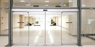 all glass front door glass front door for business