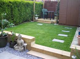 garden design with sleepers. how to use garden sleepers in the design and landscape of railway with