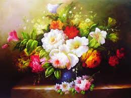 oil paintings of flowers fl oil paintings flower oil paintings painting flowers with
