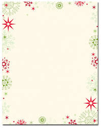 Imposing Christmas Stationery Templates Word Template Ideas