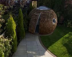 start slideshow backyard home office pod