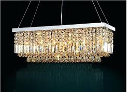 rectangular crystal chandelier rectangular crystal chandelier lighting