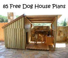Modern  Dog houses and Goat shed on Pinterest Free Dog House Plans
