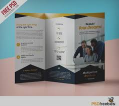 3 column brochure gallery of business tri fold brochure templates 3 column template