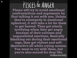 Awesome Facts About Pisces Fact One Fourteen Pisces And Anger