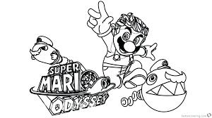 Super Mario Galaxy 2 Coloring Pages