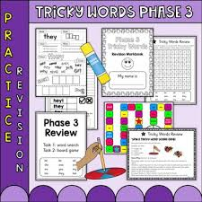 Check out our collection of printable phonics worksheets for kids. Phonics Phase 3 Tricky Words Practice Worksheets Uk Teaching Resources