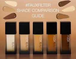 Fake Tan Colour Chart Your Ultimate Fauxfilter Shade Comparison Guide
