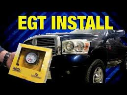 how to install an autometer egt gauge