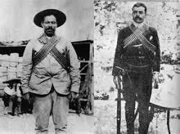emiliano zapata and pancho villa. Revolucion Mexicana Pancho Villa And Emiliano Zapata Mexican Men Flags For
