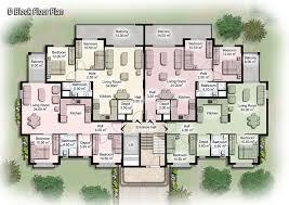 apartment unit plans   modern apartment building plans in 2013  Free  Download Spacious .