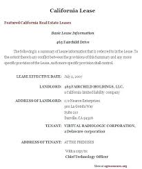 Sub Lease Template Commercial Sublease Agreement Template Word