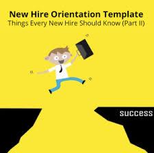 Employee Orientation Template New Hire Orientation Template Mindtickle