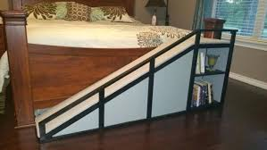 diy dog ramp for bed dog ramp for the bed weekend projects dog ramp intended for