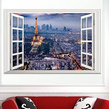 Eiffel Tower Home Decor Accessories Wall Decor Wall Art Paris Romantic City Eiffel Tower Tall 45