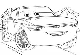 Small Picture Bob Sterling from Cars 3 coloring page Free Printable Coloring Pages