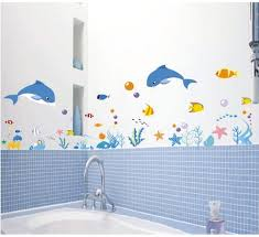 Wall Sticker Bathroom Vinyl Decal Removable Wall Stickers Art Mural Home Decor Bathroom