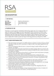 Salesforce Administrator Resume New Salesforce Administrator Resume Fresh Salesforce Administrator