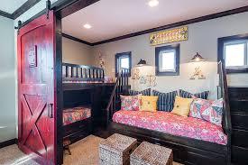 barn door furniture bunk beds. smart arrangement of beds in the kidsu0027 bedroom to save space from carlos set sims 3 barn door furniture bunk m