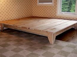 Making Simple Platform Bed King Size