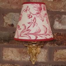 laura ashley ironwork scroll medium handmade candle clip lampshade wall base