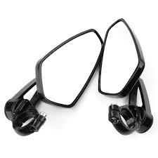 delta bar end motorcycle mirror with bar ends