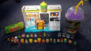 Grossery Gang Vending Machine Interesting Grossery Gang Series 48 Yucky Mart Playset And Mushy Slushy Cup And