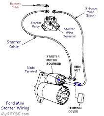 chevy starter wiring schematic wiring