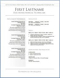 Curriculum Vitae Maker Delectable Cv Sample Download In Word 48 Printable Resume Maker