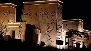 Sound And Light Show Philae Temple Philae Temple Egypt Sound And Light Show Part 2