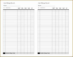 Mileage Reimbursement Spreadsheet Of Irs Mileage Log Template Fresh