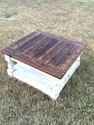wood plank coffee table best rustic square ideas on farmhouse for