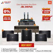 Dàn Karaoke Gia Đình JBL DKP45 I Loa Mỹ Giá Tốt I Anh Đức Audio