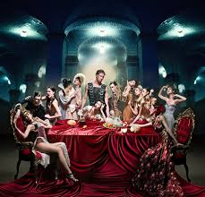 the last supper shoot featuring mark munroe