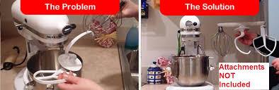 kitchenaid 4 5 qt mixer. mixermaid, the kitchenaid mixer attachment holder for 4.5 and 5 qt mixers kitchenaid 4 t
