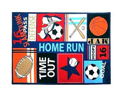 sports themed rugs luxury kids rug or area football pitch large